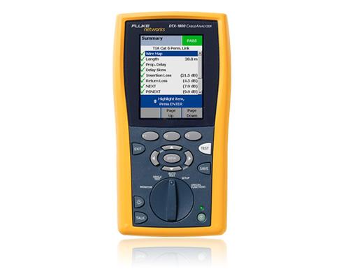 福禄克FLuke DTX-1500电缆认证分析仪(DTX1500 CableAnalyzer)网线光纤测试仪