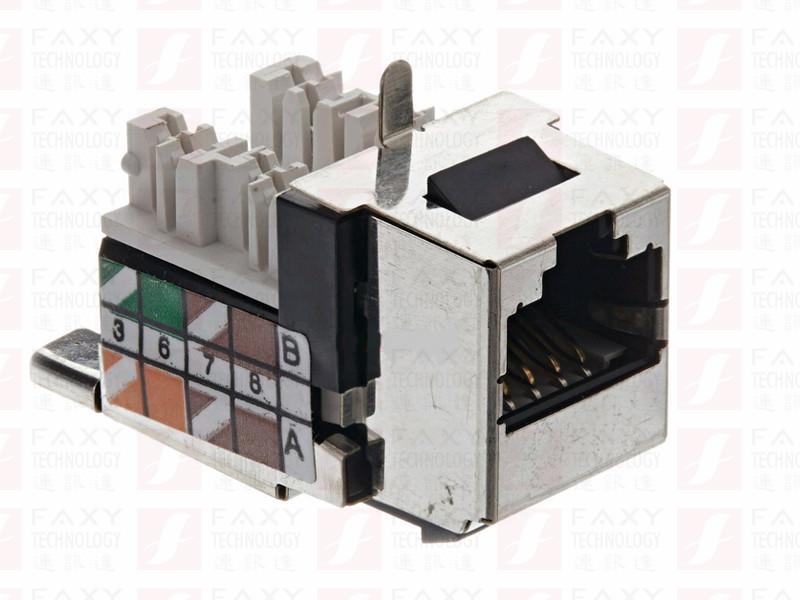 福禄克FLUKE DSX-PCTAC6AKS屏蔽双绞线CAT 6A备用跳线插座套装DSX-PC6AS适配器专用