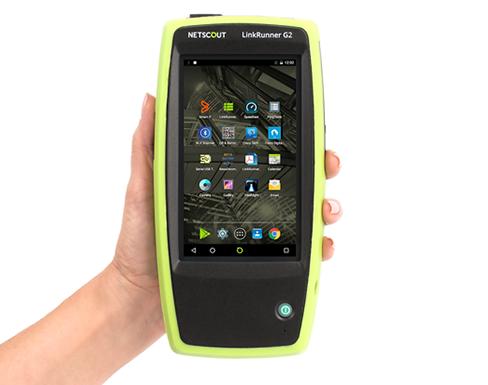 NETSCOUT  Linkrunner G2智能网络测仪新品发布